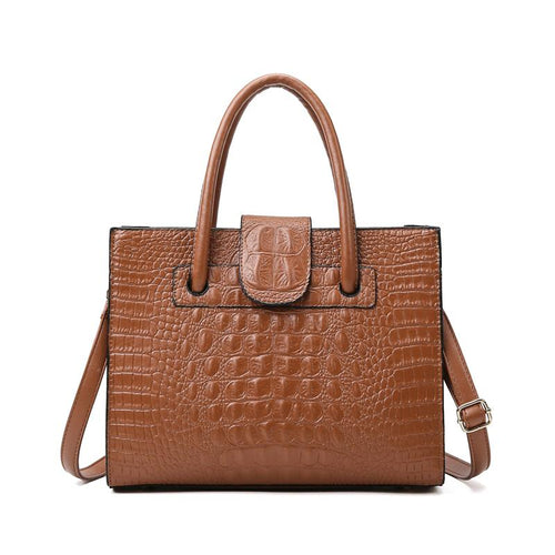 The Linda Bag - Brown-Handbag-ElegantFemme