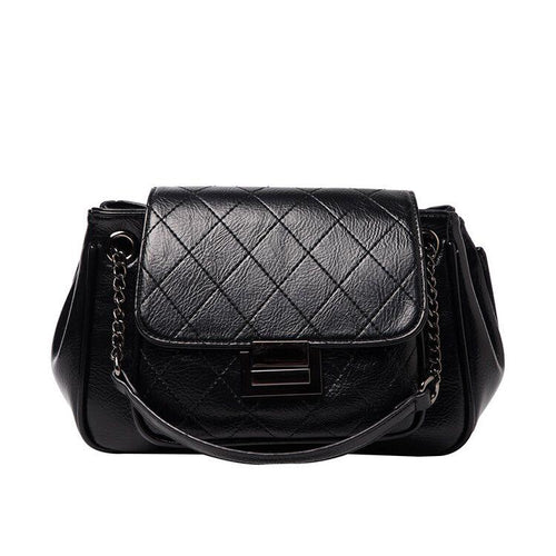 The Rosie Clutch - Black-Handbag-ElegantFemme