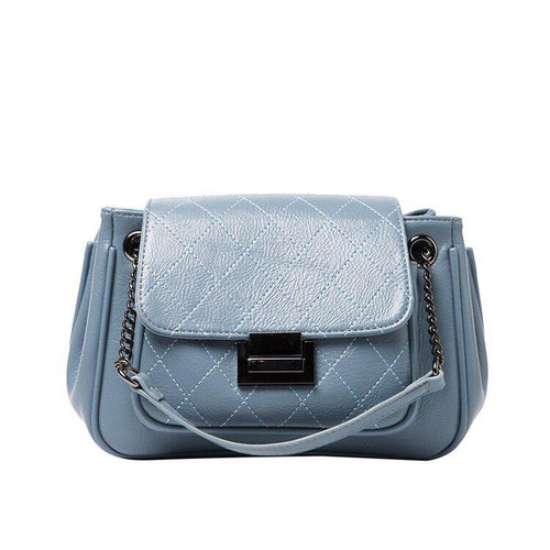 The Rosie Clutch - Blue-Handbag-ElegantFemme