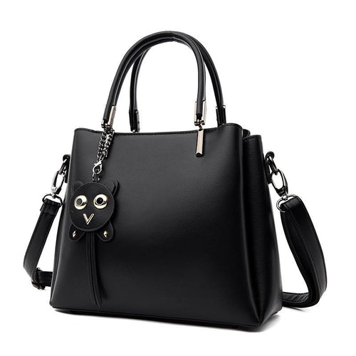 The Sage Hobo Bag - Black-Handbag-ElegantFemme