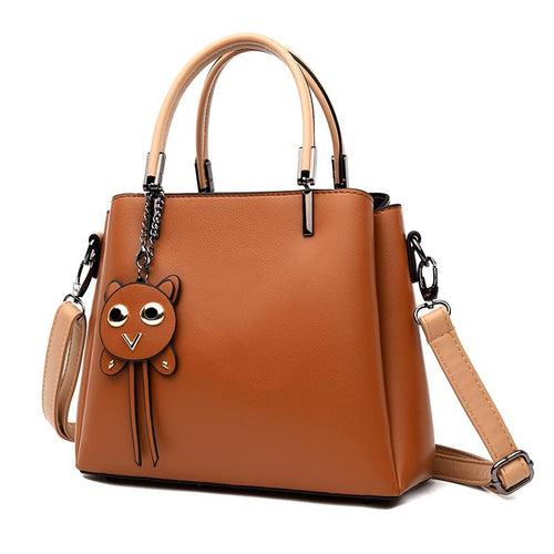The Sage Hobo Bag - Brown-Handbag-ElegantFemme