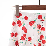 The Cherish Midi Skirt - Cherry-Skirt-ElegantFemme