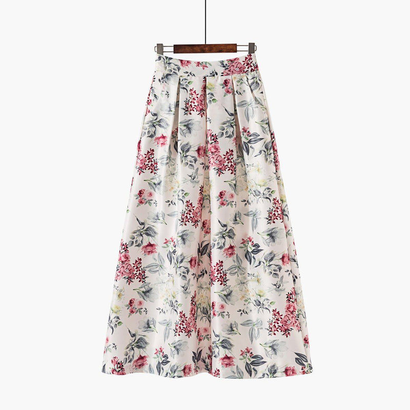 The Signature Wanderlust Skirt-Skirt-ElegantFemme