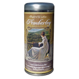 Pemberley Lavender and Lemongrass Green Tea Premium Tea Sachets Jane Austen Inspired Tea Collection Gourmet Leaf Tea Blend