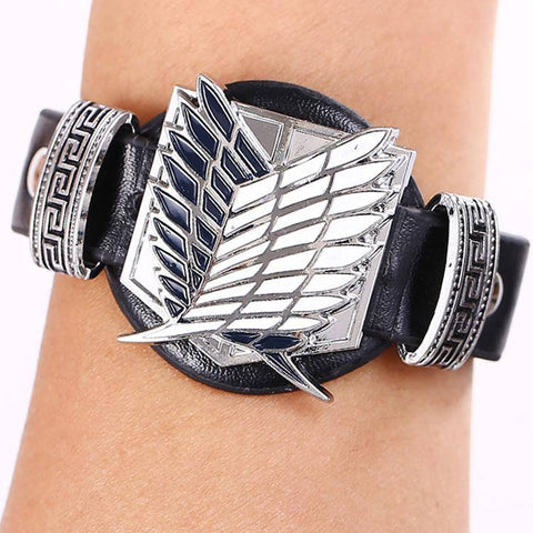 Attack on Titan Anime Bracelet - Otaku Anime Shop