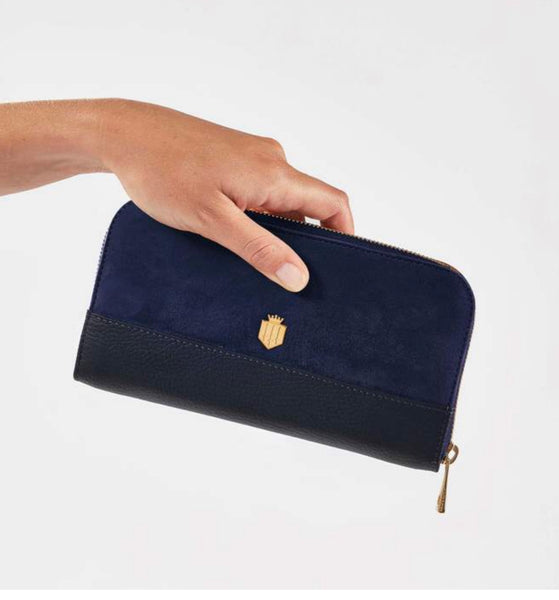 Fairfax & Favor Salisbury Purse - Navy