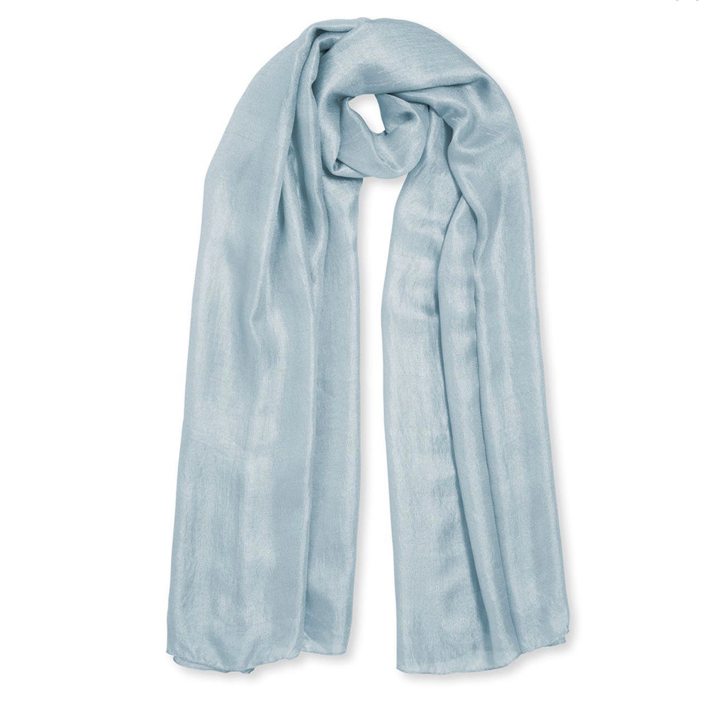 Katie Loxton-Wrapped up in Love Scarf-Pale Blue