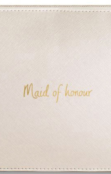 Katie Loxton 'Maid of honour' Perfect Pouch bag
