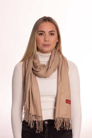 Camel Scarf by Vantage Atelier