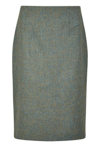 Dubarry Fern Tweed Knee Length Skirt