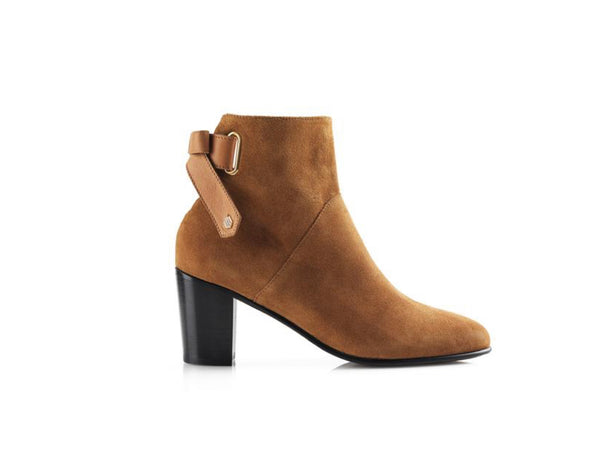 The Blair Tan Suede Boot
