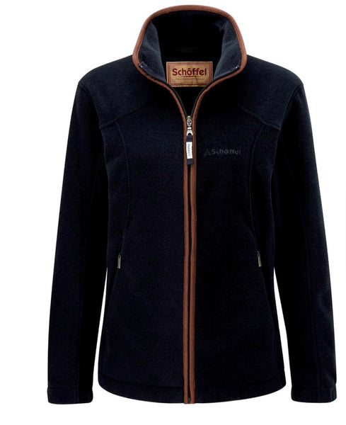 Burley Fleece Jacket-Navy by Schoffel