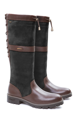 Dubarry Glanmire boot, black brown