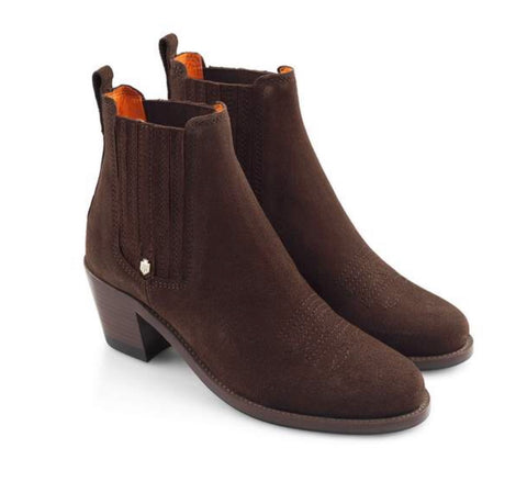The Rockingham Ankle Boot- Chocolate