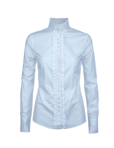 Dubarry Chamomile Ladies Country Shirt-Blue