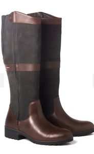 Dubarry Sligo Country Boot - Black/Brown