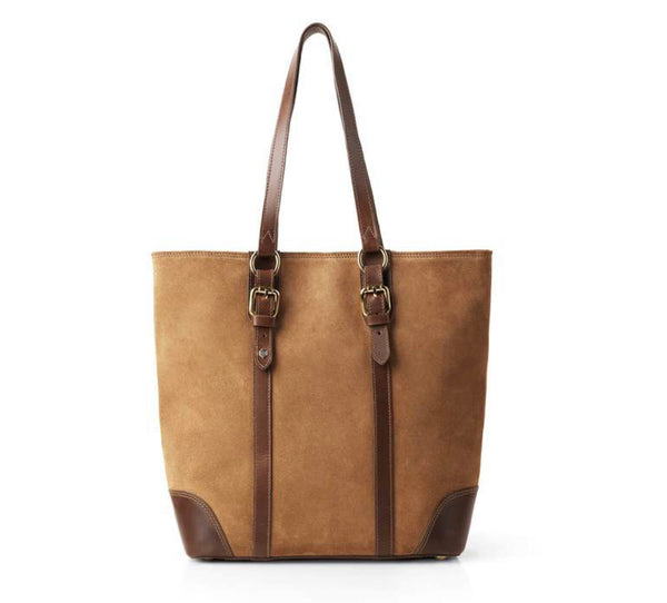 Fairfax & Favor The Gatcombe Suede Tote Handbag