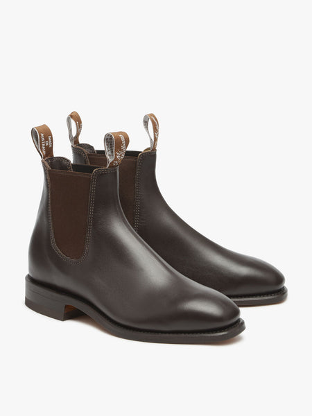 RM Williams Comfort Craftsman Boots - Dynamic Flex Sole - Chestnut