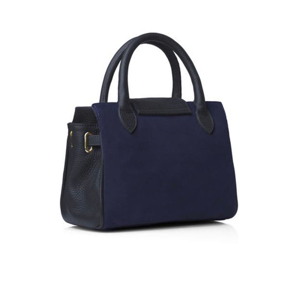 Fairfax & Favor Mini Windsor bag- Navy