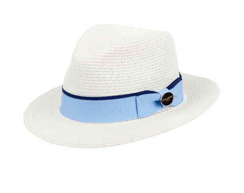 Hicks & Brown The Orford Fedora (Cornflower Blue Ribbon)