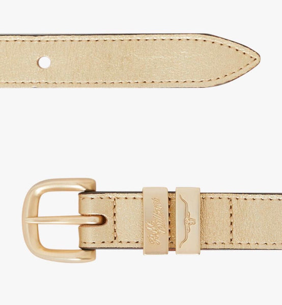 R.M.Williams Drover Belt in Gold