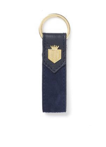 Fairfax & Favor Keyring - Navy