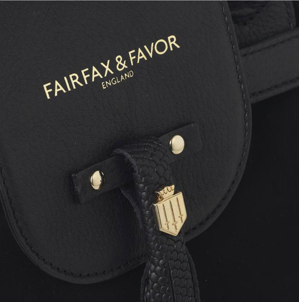 Fairfax & Favor Windsor Bag-Black