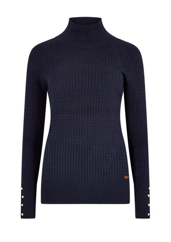 Dubarry Brennan Jumper- Navy