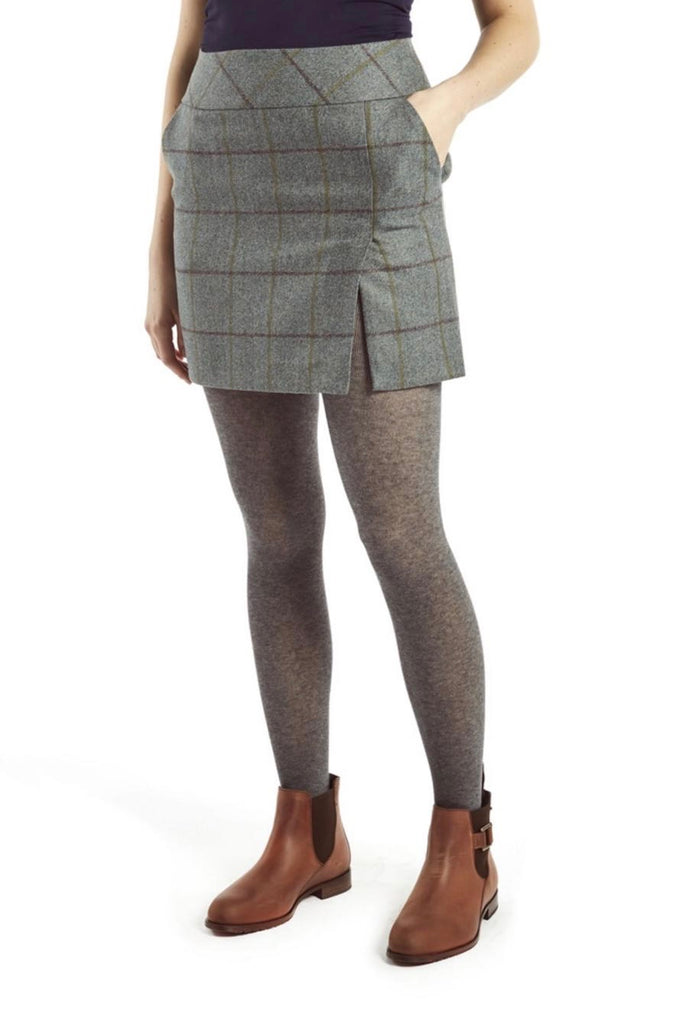 Dubarry Bellflower Tweed Skirt - Sorrel