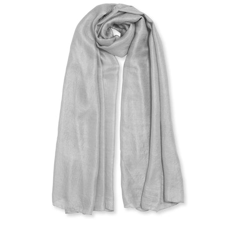 Katie Loxton-Wrapped up in Love Scarf-Pale Grey