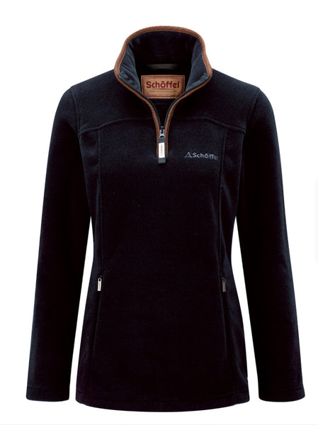 Tilton 1/4 Zip Fleece -Navy