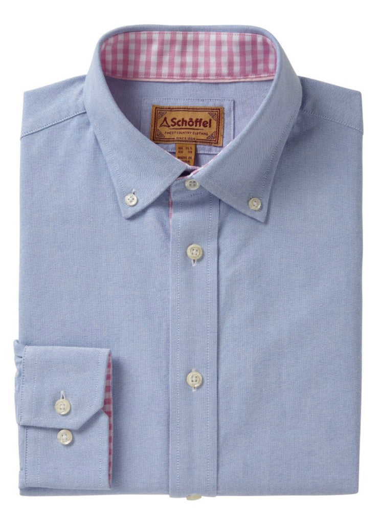 The Holkham Shirt by Schoffel