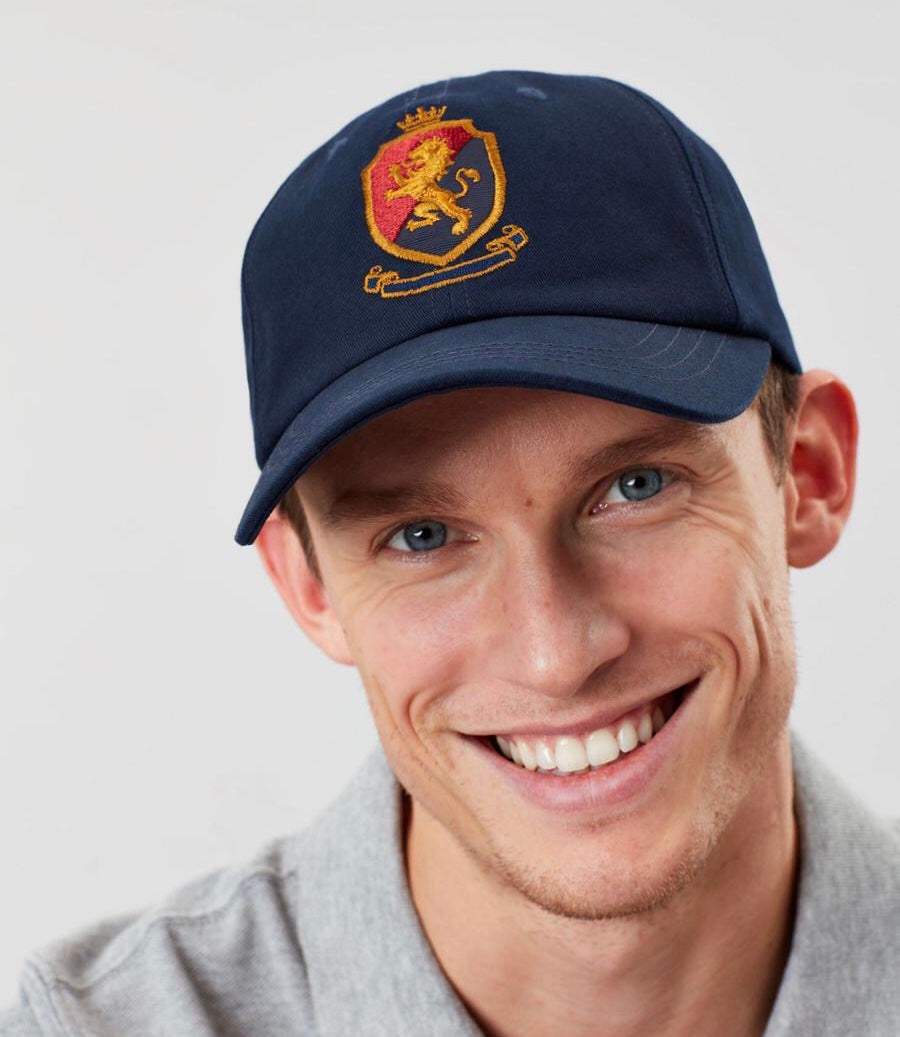 Joules Stepney Embroidered Baseball Cap