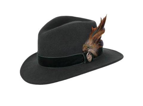 Hicks & Brown Chelsworth Fedora (Olive)