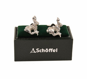 Pewter Hare Cufflinks