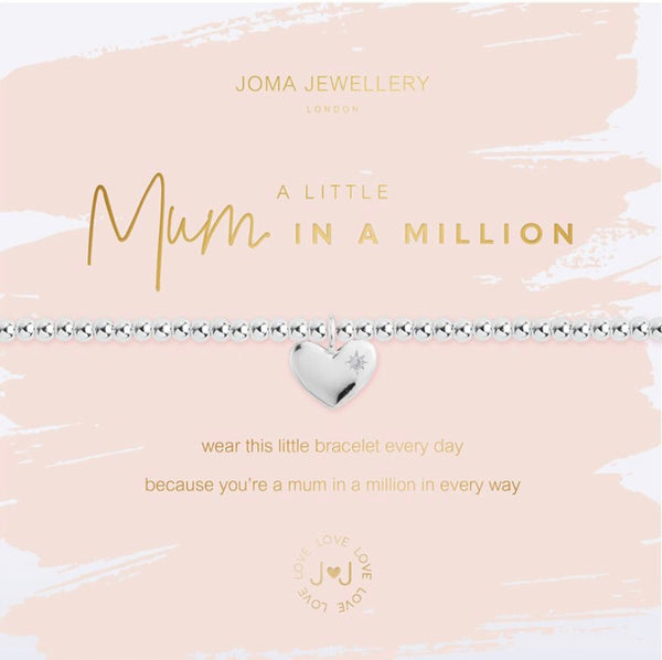 Joma Beautifully Boxed A Little Mum In a Million Bracelet