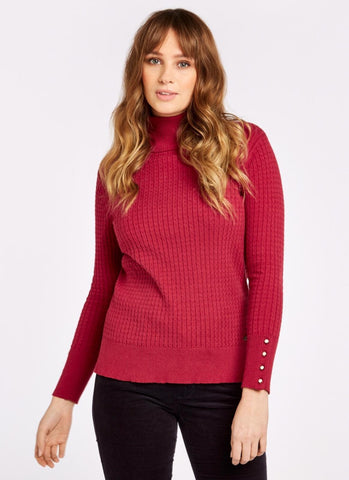 Dubarry Brennan Jumper -Ruby