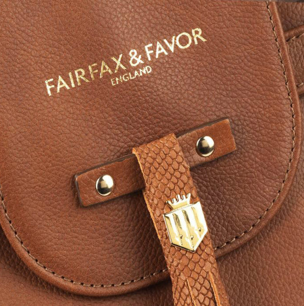 Fairfax & Favor Windsor Tan Leather Handbag