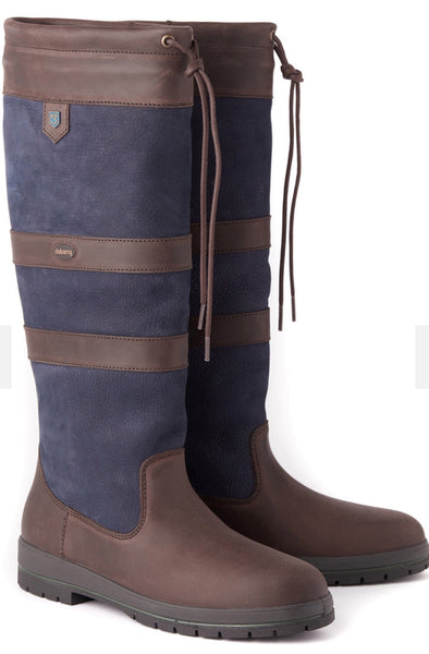 Dubarry Galway Boot Navy / Brown