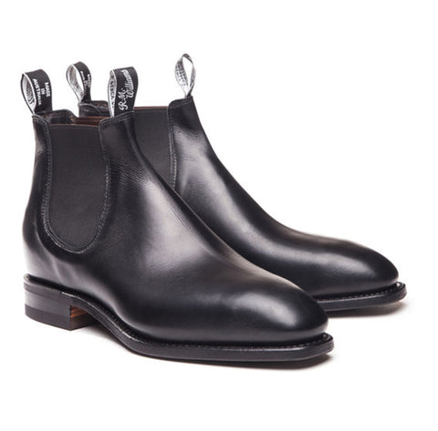 RM Williams Comfort Craftsman Boots - Black