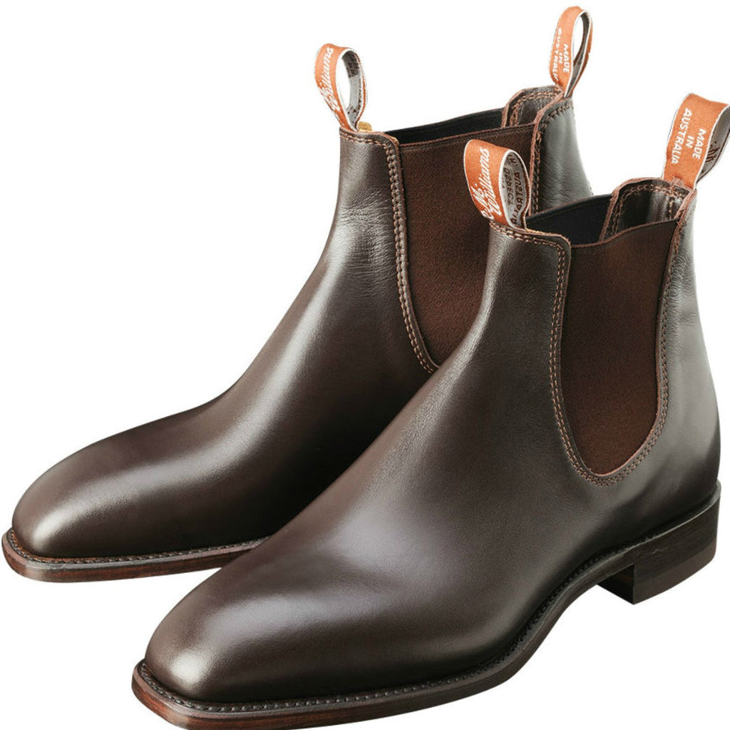 RM Williams Comfort Craftsman Boots - Chestnut