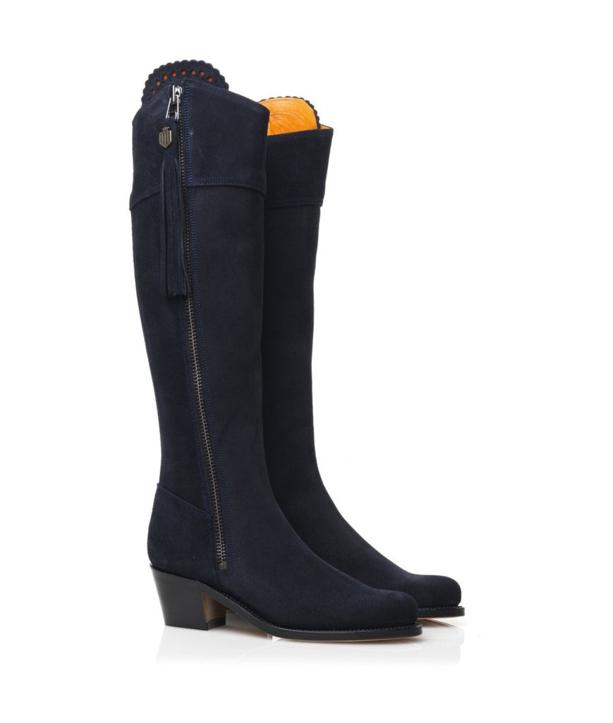 Fairfax & Favor Heeled Regina Sporting Fit  - Navy