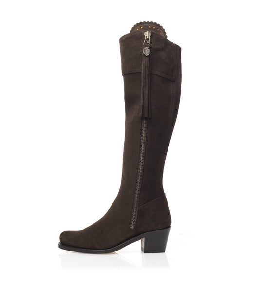 Fairfax & Favor Heeled Regina - Chocolate