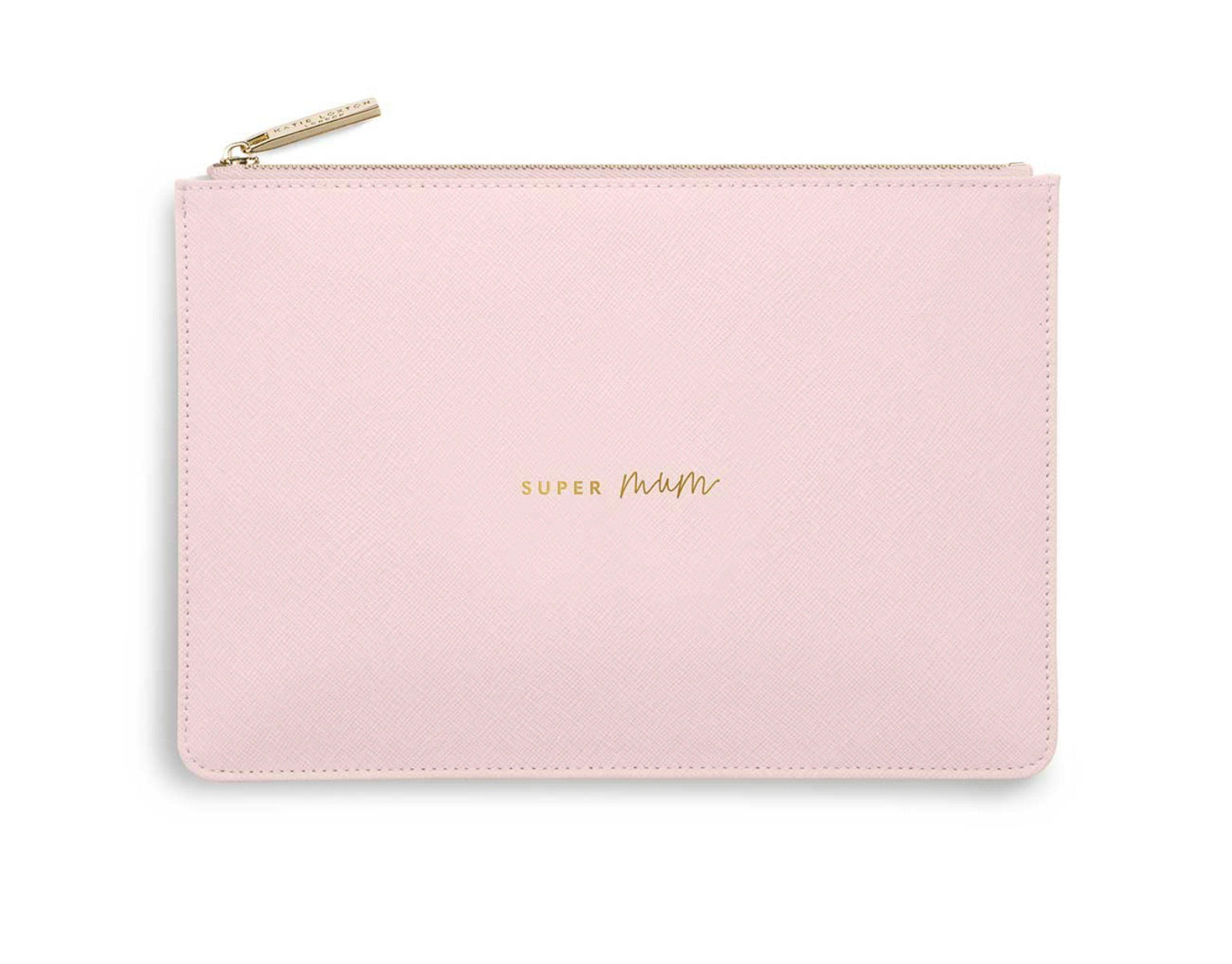 Katie Loxton  Perfect Pouch Bag 'Super Mum' Pink