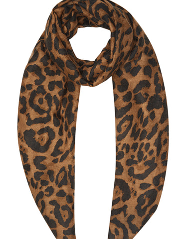 Leopard Print  Scarf by Guinea