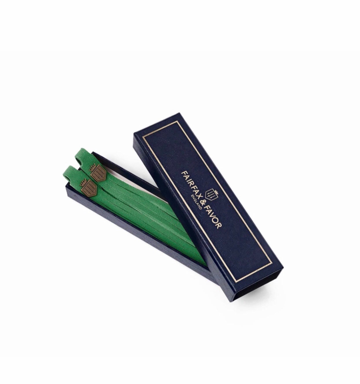 Fairfax & Favor Boot Tassels - Jade