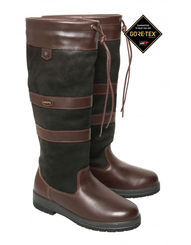 8c75a29d9b0fb Dubarry Galway boot Ex Fit Black Brown – Giles & Bella