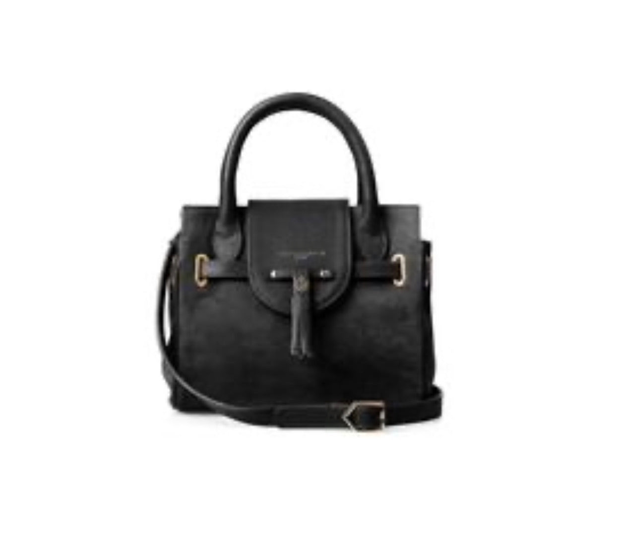 Fairfax & Favor Mini Windsor bag- Black