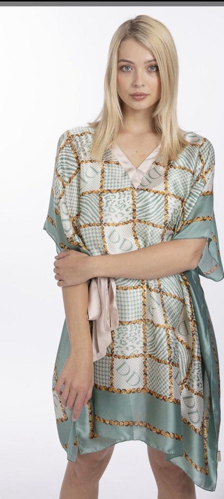 Silk blend Kaftan by Jayley