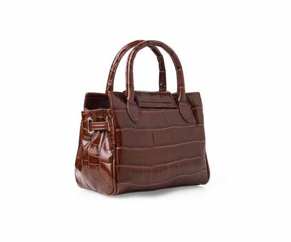 Fairfax & Favor Mini Windsor bag - Conker Leather